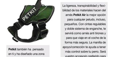 Petkit, el arnés más cómodo y seguro