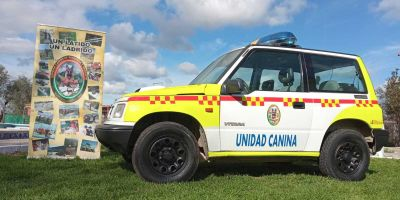 Un municipio no debe despreciar el lujo de tener una Unidad Canina de Rescate