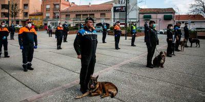 La Unidad Canina de la Policía Local de Alcobendas, de las más populares de España