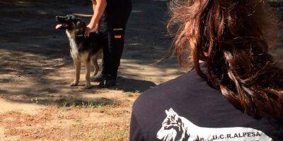 La unidad canina que buscó a Marta del Castillo incorpora medios aéreos
