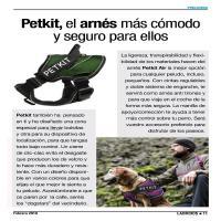 Petkit, el arnés más cómodo y seguro para ellos